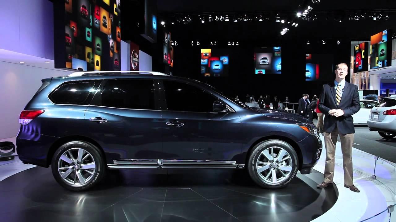 2017 Nissan Pathfinder Concept Detroit Auto Show