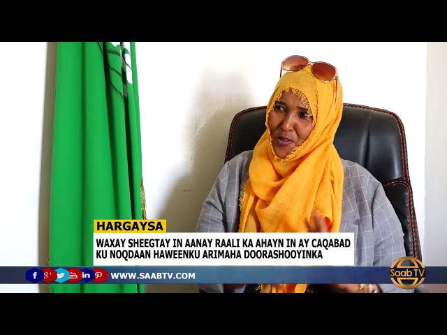 Guddoomiyaha Garabk Haweenka Xisbiga Ucid Marwo Suad Ali Oo Ka Digtay In Aan Doorashooyinka La Carqa