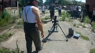Тест новой мины к немецкому миномету 81мм / Testing new mine for German 81mm Mortar