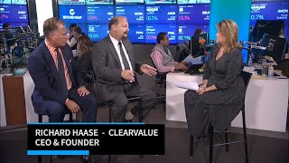 ClearValue | CEO Richard Haase & Doug Anderson of Wall Street Capital | Innovators With Jane King Video