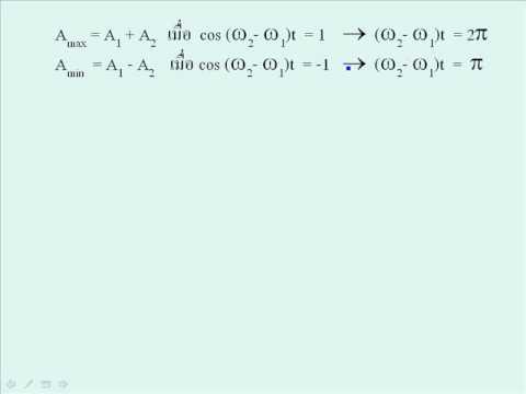 sum of SHM วิชา ฟิสิกส์1 040313005 มหาวิทยาลัยเทคโนโลยีพระจอมเกล้าพระนครเหนือ
