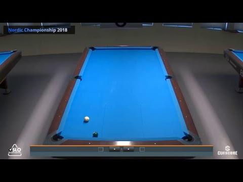 Nordic Championship 10-Ball 2018 - sunday- table 6