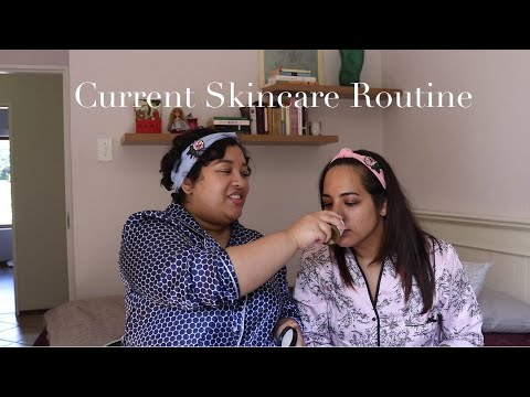 Part 2: Our current skincare routine and our HUGE organic collection