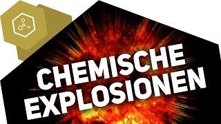 Chemische Explosionen / Kettenreaktion - Beispiel Knallgas