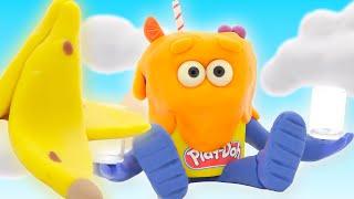 El show de Play-Doh | Comida desordenada | Play-Doh Oficial