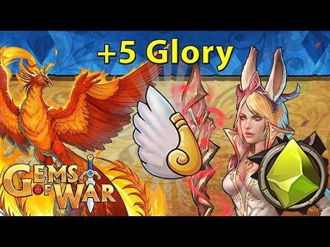 Gems of War: Event Objectives | Rise from the Ashes Event | Sunbird +5 Glory