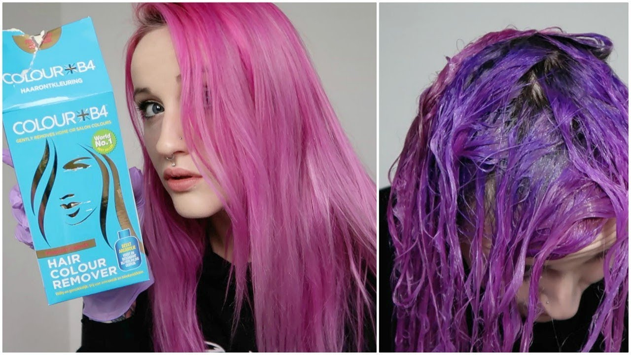 Color B4 Made My Pink Hair Turn Blue Youtube,Brown And Gray Bedroom