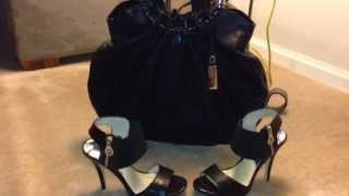 """My FAVE"" Michael Kors Skorpios Ring Tote & MK Odelia Zipper Sandals Thumbnail"