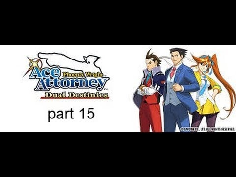 Lets Play Phoenix Wright Dual Destinies part 15 the cosmic turnabout first day in court!