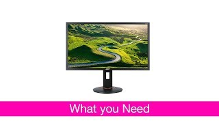 ACER XF270H 27 inch 144Hz Gaming Monitor REVIEW - Cheap and Good - Best Budget Gaming Monitor?