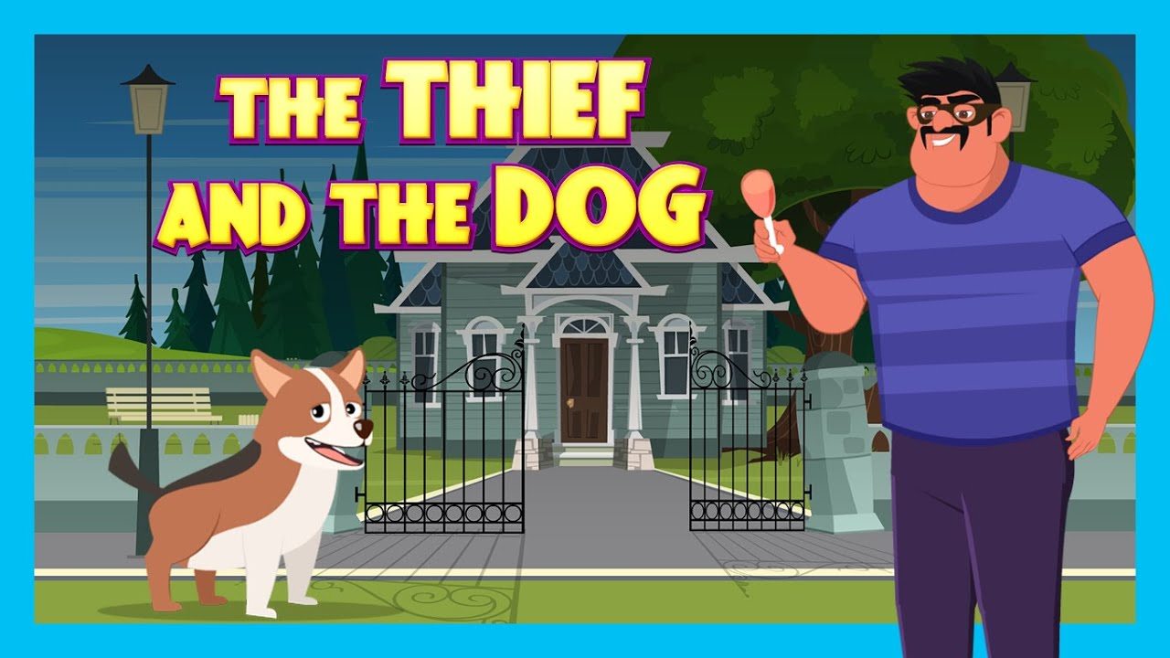 THE THIEF AND THE DOG | NEW ENGLISH STORY | KIDS HUT STORYTELLING | TIA & TOFU KIDS HUT STORYTELLING