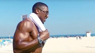 Boxing champion Anthony Joshua does Dubai