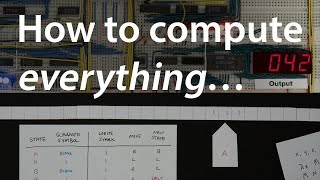 Making a computer Turing complete