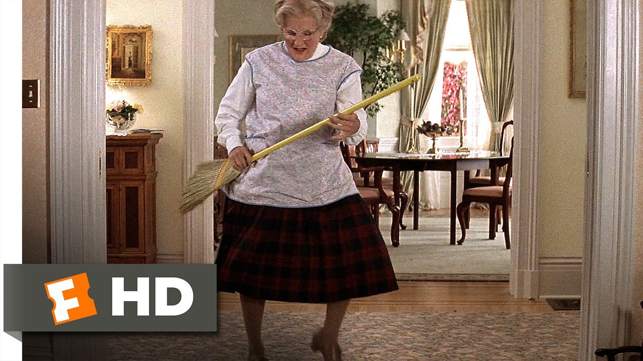 Mrs Doubtfire 5 5 Movie Clip Looks Like A Lady 1993 Hd Youtube