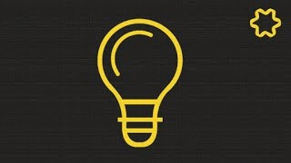 Adobe illustrator CC Tutorial : Lamp Bulb Logo Design illustrator - Flat Design Tutorial