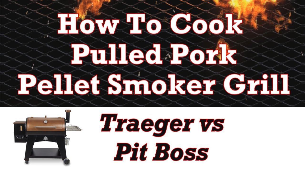 Pellet Smoker Pork Shoulder - How To Cook Pulled Pork ...