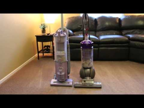 Which picks up more? Shark NV 22 vs Dyson DC41