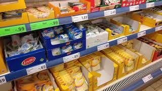 Узнайте актуальные цены на продукты в Германии (октябрь 2018). Супермаркет LIDL