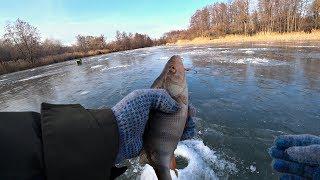 Ловля окуня на балансир Зимняя рыбалка 2019 2020