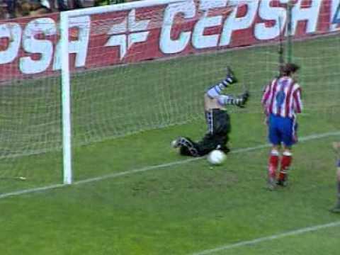 Atletico Madrid Barcelona Jose Luis Perez Caminero Gol Temporada 97/98