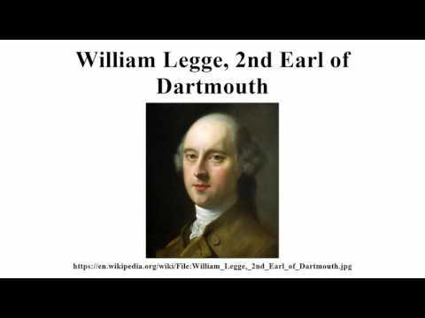 William Legge, 2nd Earl of Dartmouth