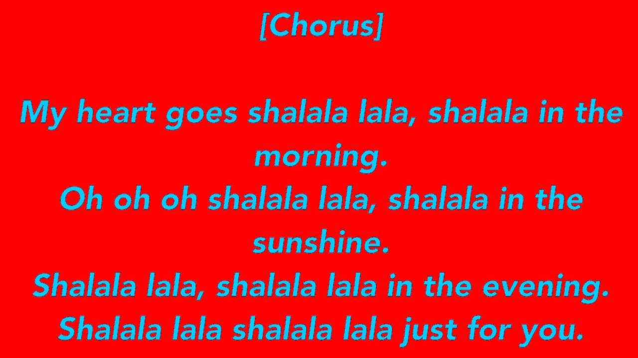 Shalala Vengaboys - Lyrics - YouTube