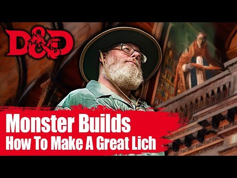 How to Make a Good Lich in 5E D&D 🏰🐉 Dungeons and Dragons Monsters