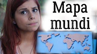 DIY :: Mapa Mundi