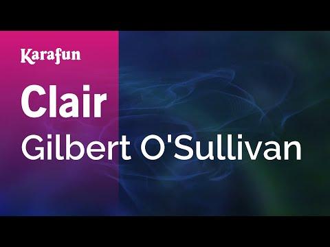 Karaoke Clair - Gilbert O'Sullivan *