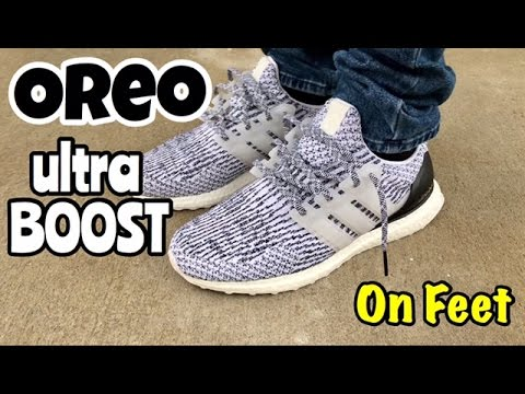 Adidas Ultra Boost 3.0 Oreo Zebra Black White S80636 men size 10.5