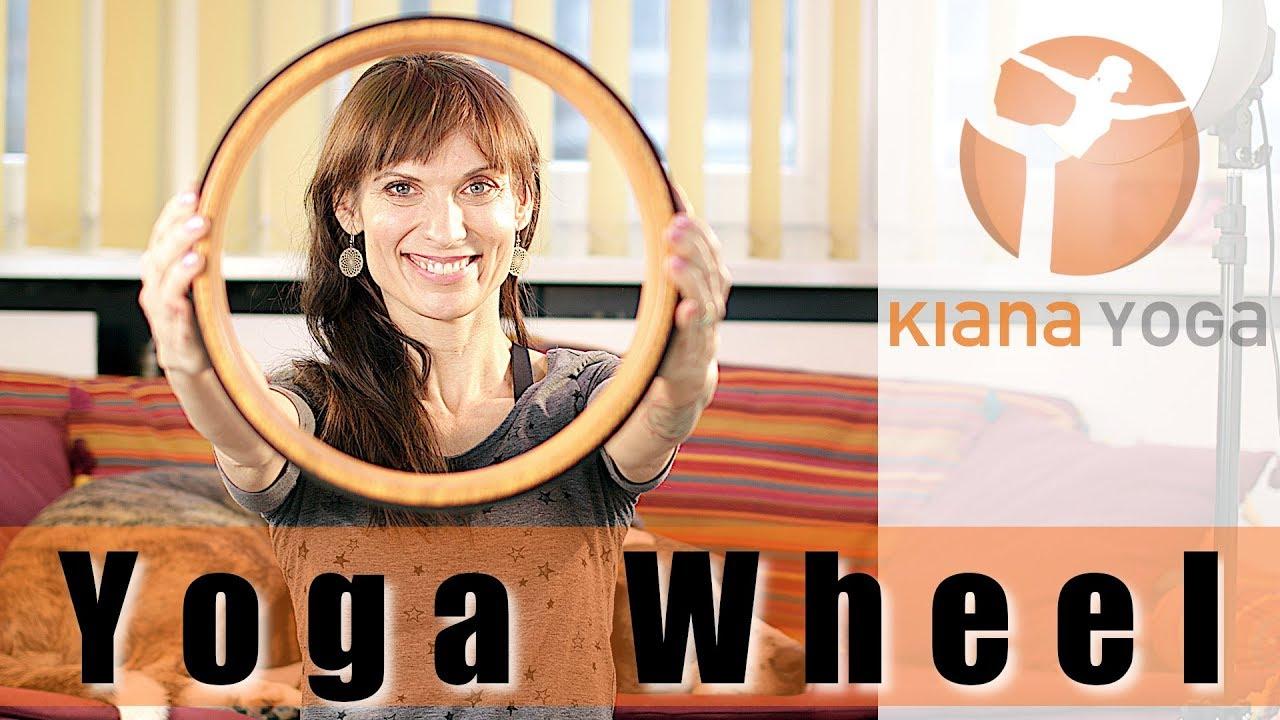 bequemer Schaumstoff-R/ücken-Roller Estink- Yoga-Rad R/ückenschmerzlinderung Dehnungsrolle Fitnessger/ät