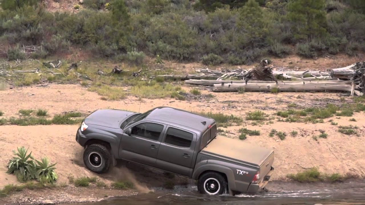 Toyota Tacoma TX PRO TRD   Prosser Reservoir Off Road (Tahoe)   YouTube