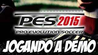 Pro Evolution Soccer 2015 - Real Madrid x Barcelona JOGANDO A DEMO