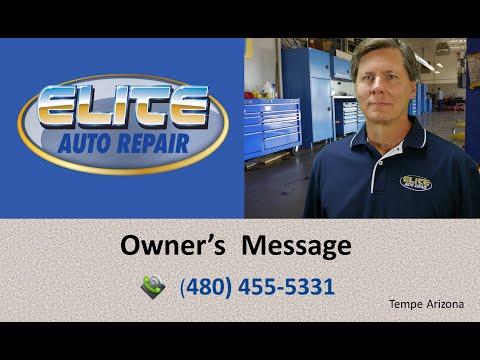 Auto Repair Tempe | Elite Auto Repair | Auto Repair Tempe