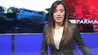 Terremoto in diretta al Tg Parma