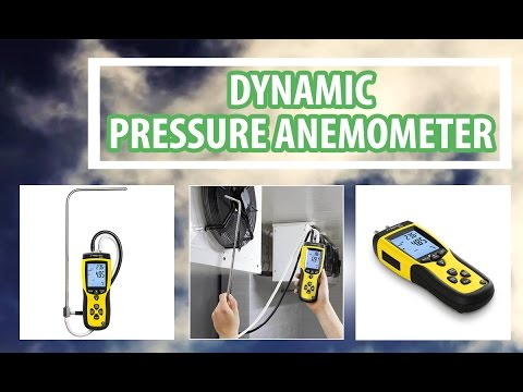 Dynamic pressure anemometer measures Airspeed using advanced