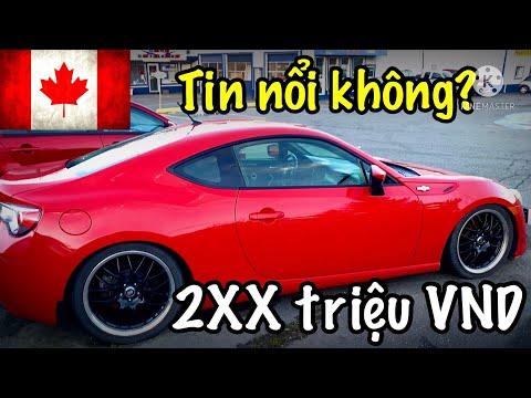 🇨🇦Cuộc Sống Canada   XE HƠI CŨ ĐẸP NHƯ MƠ Ở CANADA CHỈ CÓ 90 Triệu VND.