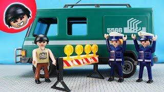 KARLCHEN KNACK -  Karlchen klaut den Geldtransporter - Playmobil Polizei Film #119