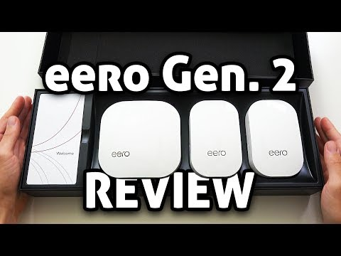 Eero Mesh WiFi Gen. 2 With Tri-Band! REVIEW