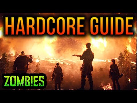 ULTIMATE FINAL REICH *HARDCORE* EASTER EGG GUIDE (EASY TUTORIAL WW2 ZOMBIES EASTER EGG WALKTHROUGH)