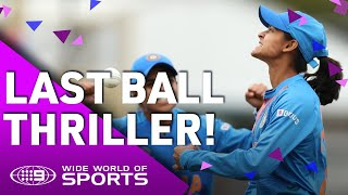 India v New Zealand: T20 World Cup Highlights | Wide World of Sports