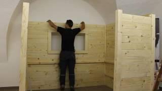 Video Aufbau der Bauer Holz Sauna(Genaue Erklärung Der Schritt für Schritt Plan zum perfekten Aufbau., 2016-12-08T11:28:52.000Z)
