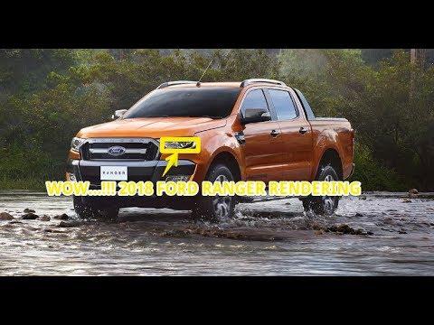 WOW...!!! 2019 ford ranger rendering
