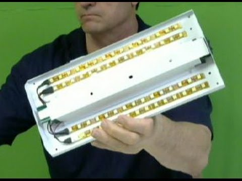Two Stage LED Strip Kit for upgrading a RV Fluorescent Light - YouTube