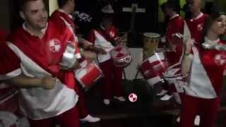 Show de Passistas e Bateria de Escola de Samba Apito de Mestre em Bodas.