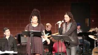 "Constantine Maroulis & Nora Schell in ""Wearing Black"" by Riley Thomas, directed by Markus Potter"