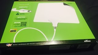 Mohu Leaf 50 Amplified Antenna Unboxing