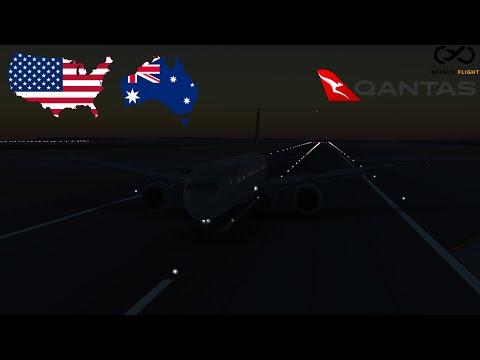 Infinite Flight: San Francisco (SFO) To Sydney (SYD) | TIMELAPSE | Qantas | B787-9