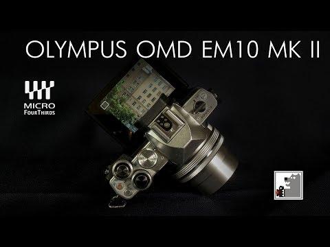 Olympus OMD EM 10 MK II Отличный баланс