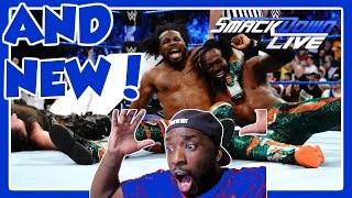 New Day vs. Bludgeon Brothers - SmackDown Tag Team Title No DQ Match - SmackDown LIVE - REACTION